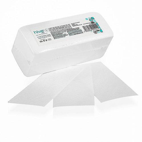 Flexible paper waxing strips small 100
