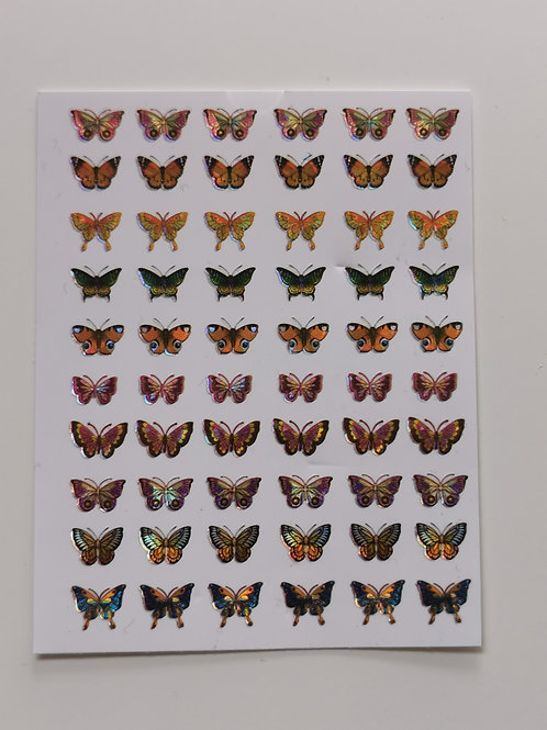 Holo Butterflies Stickers 8