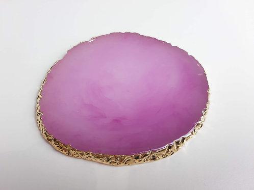 Lilac Quartz Oval Nail Art Pallete