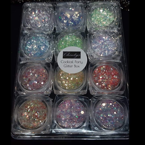 Set of 12 Glitters- Cocktail Party