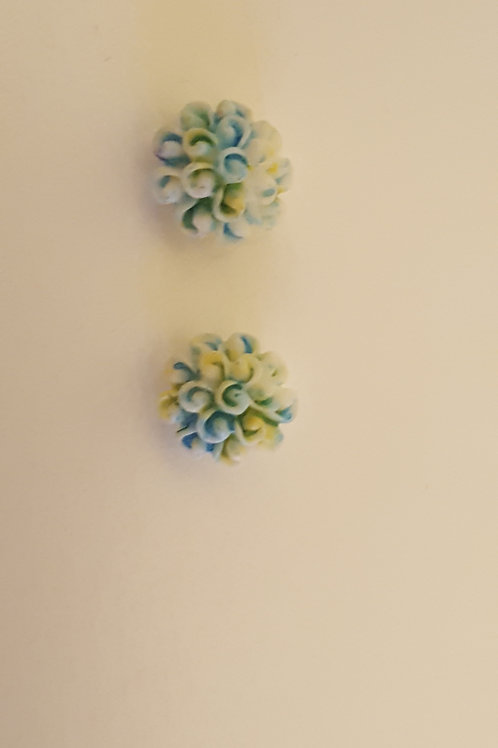 set of 2 flowers