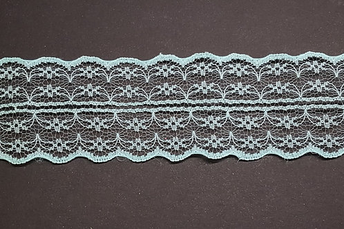 lace strip baby blue