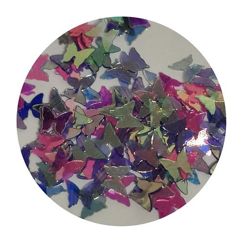 Magical Butterflies Glitter Pot