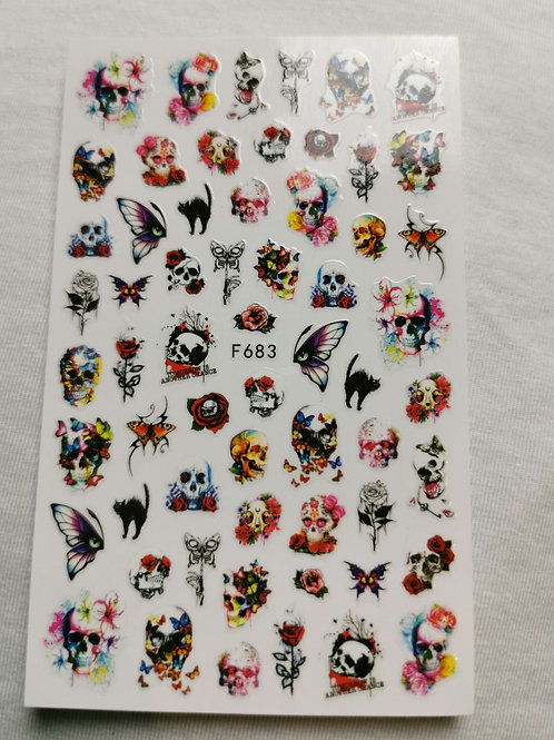 Halloween Stickers F683