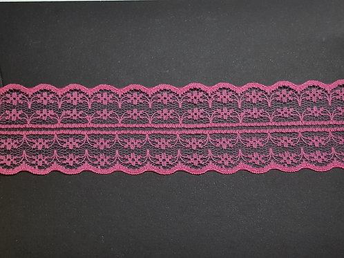 lace strip pink
