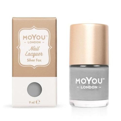 MoYou Premium Stamping Polish- Silver Fox