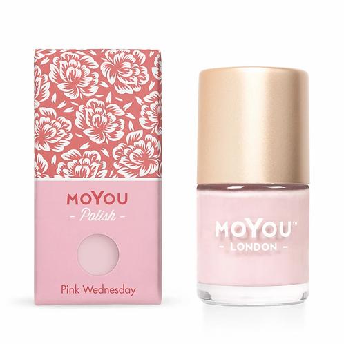 MoYou Premium Stamping Polish - Pink Wednesday