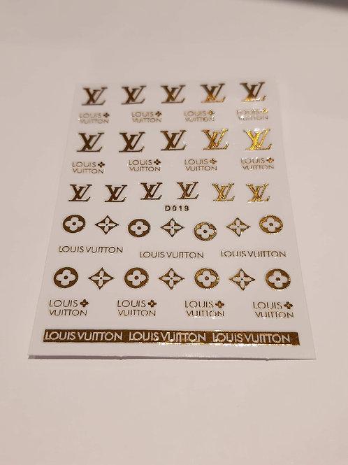 Designer Inspired Stickers 3