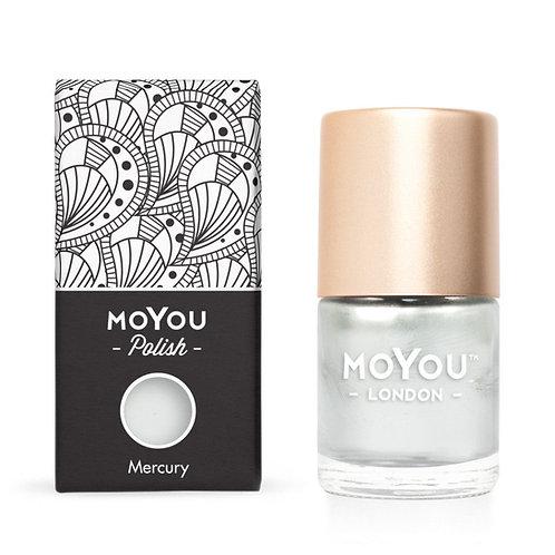 MoYou Premium Stamping Polish- Mercury