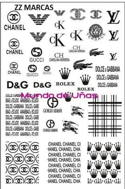 Zz Marcas Mundo De U?as Stamping Plate