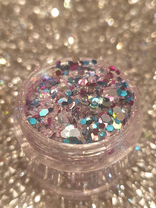 Multi Cloud 9 Glitter Pot