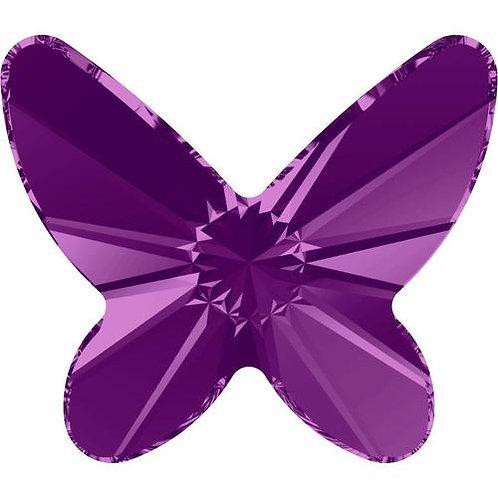 Swarovski Crystals Butterflies - Amethyst (4)
