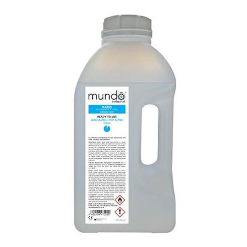 Mundo Rapid Instrument Disinfectant 2 litre (Ready To Use)