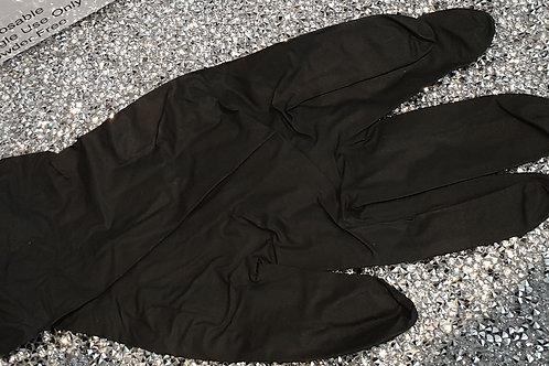 Black Nitrile Gloves Box of 100 (Small)
