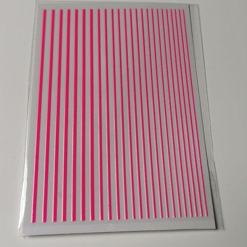 Flexible Striping Tape - Neon Pink