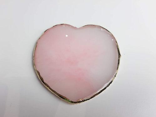 Pink Quartz Heart Nail Art Pallette