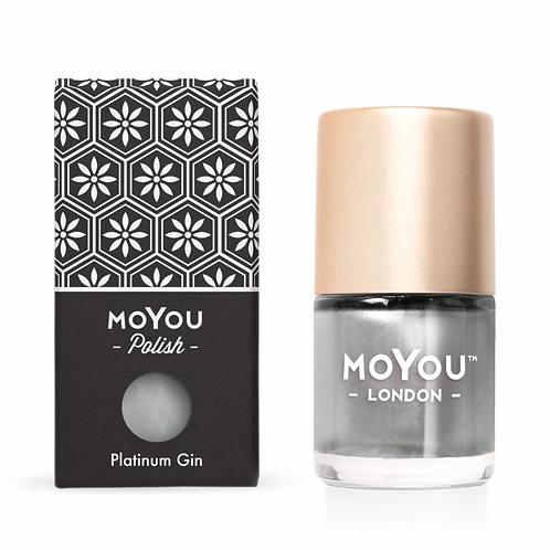MoYou Premium Stamping Polish ? Platinum Gin