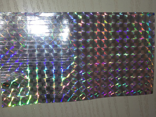Holo Silver Pattern Striping tape