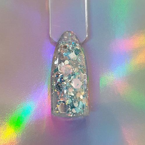 Turquoise Flare Glitter