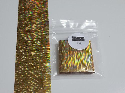 Gold Patterned Foil