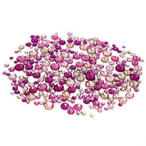 Swarovski Crystals Mix - Pinks 250