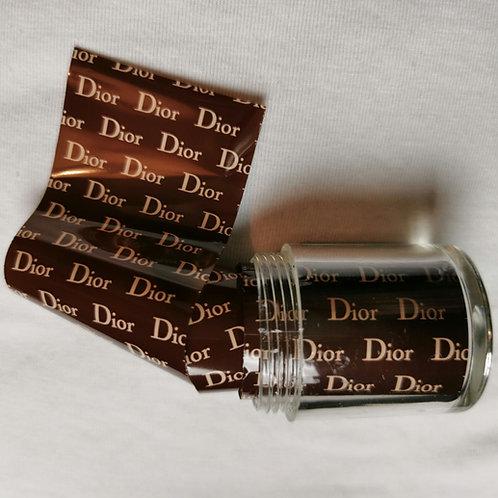 Designer Inspired Foil Pot Dior