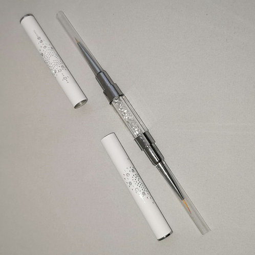 Double End Nail Art Brush  5mm & 9mm Liner