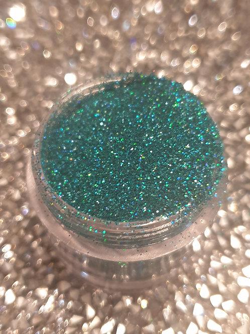 Holo Turquoise Glitter Pot