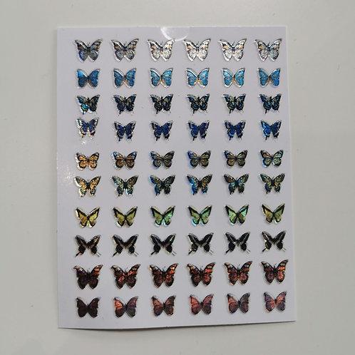 Holo Butterflies Stickers 5