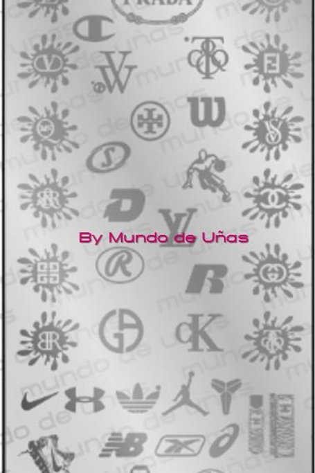 MOD 355 - Mundo De Unas Stamping Plate