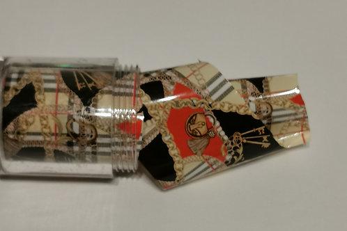 Designer Inspired Chains Foil Pot
