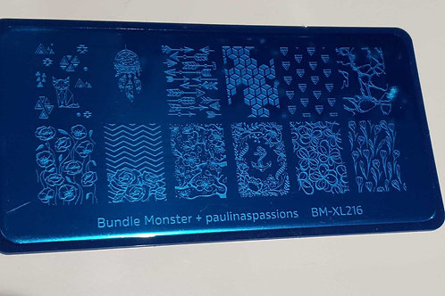 BM&Paulinaspaasions Stamping Plate