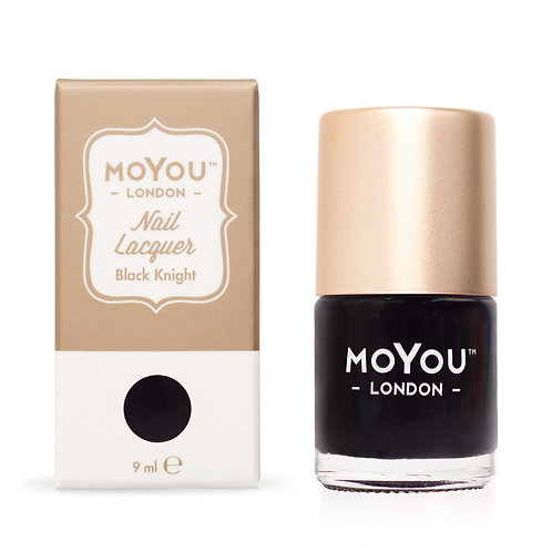 MoYou Premium Stamping Polish-Black Knight