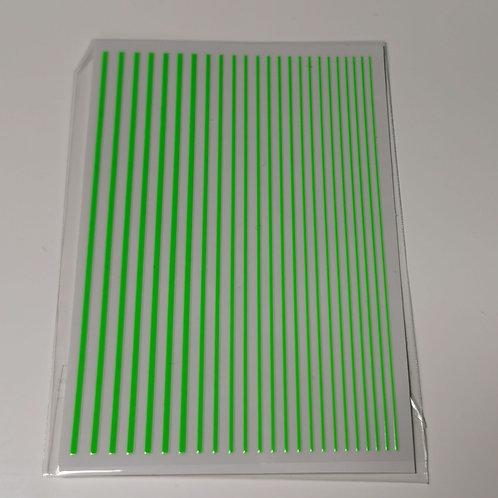 Flexible Striping Tape - Neon Green