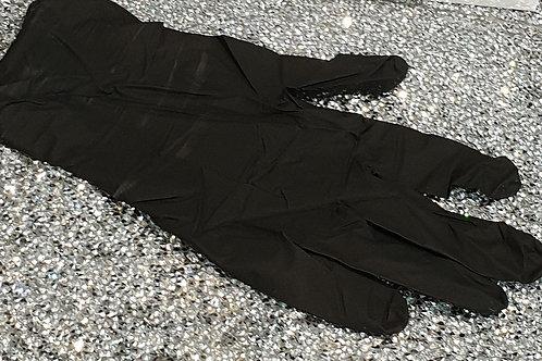 Black Nitrile Gloves Box of 100 (Medium)