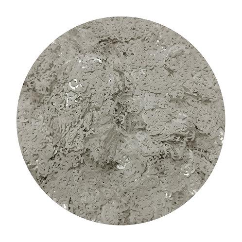 White CC Glitter Pot