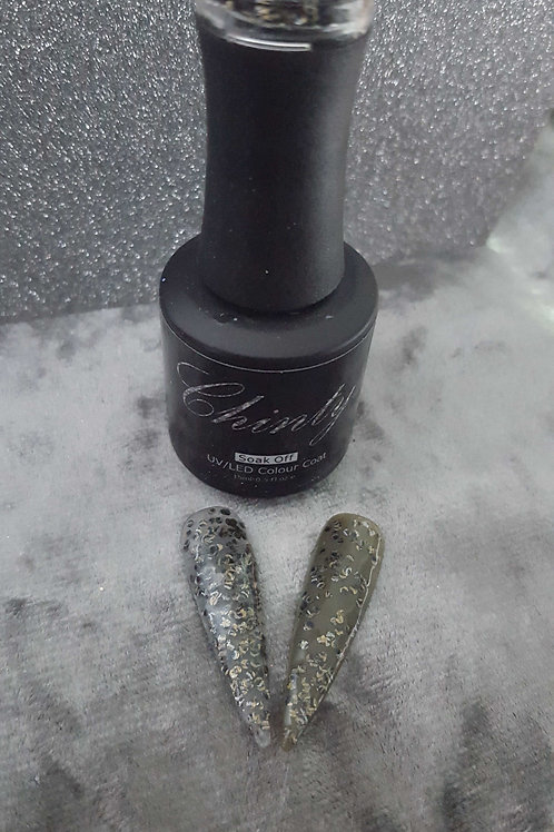 Black/Gold Speckled 15ml