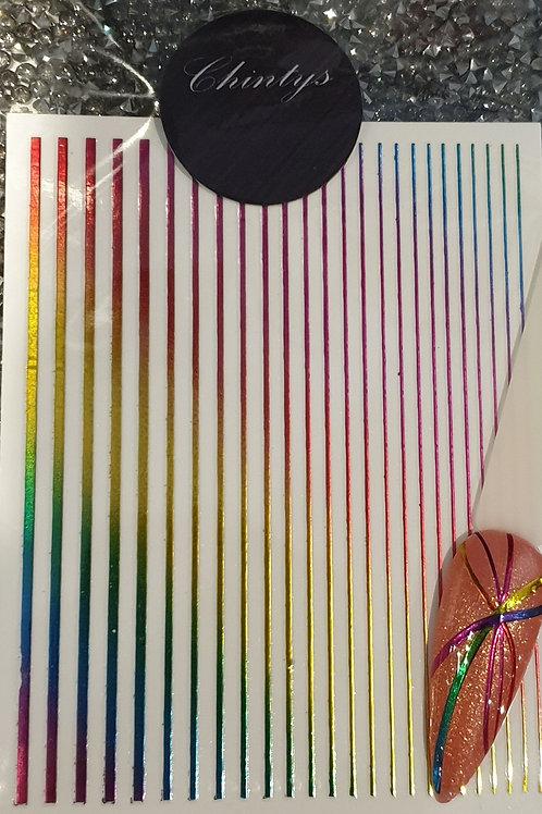 Flexible Striping Tape - Rainbow