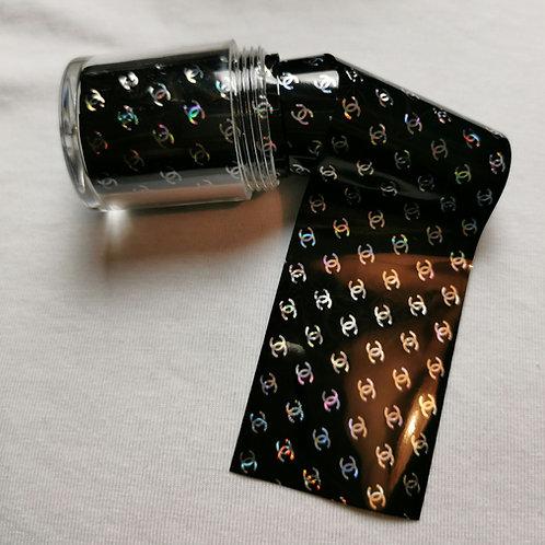 Designer Inspired Foil Pot Silver CC