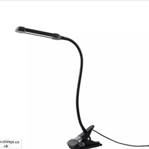 Clip on Desk led  lamp Black-White