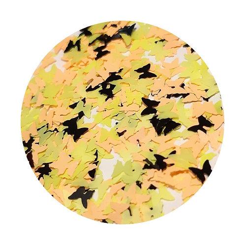 Bumble Butterflies Glitter Pot