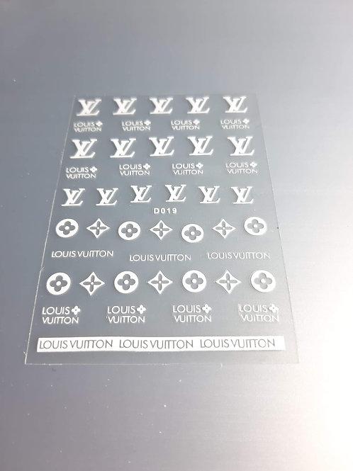 Designer Inspired Stickers 12