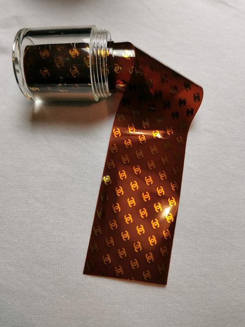 Designer Inspired Foil Pot CC gold