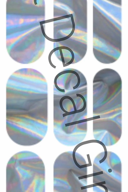 Holo Silver Decals