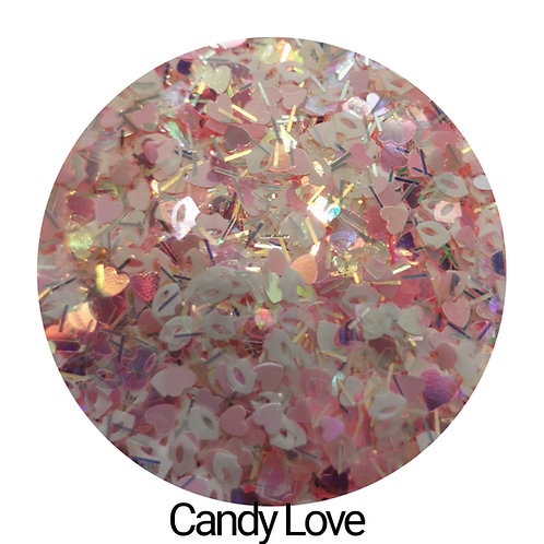 Candy Love Glitter Pot