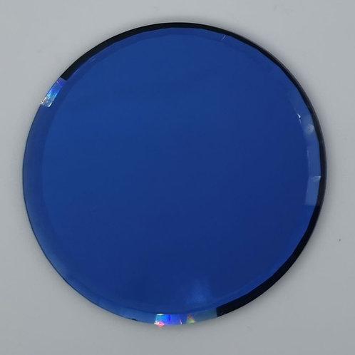 Blue Circle Nail Art Pallete