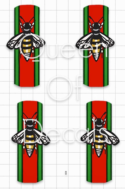 Designer Inspired Bee 4 Decals