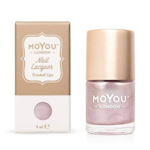 MoYou Premium Stamping Polish-Frosted Lips