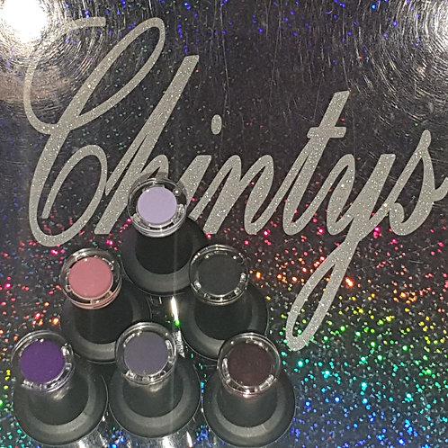 Set of 6 colour changing gel polish