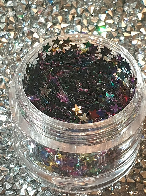 Mixed Stars Glitter Pot